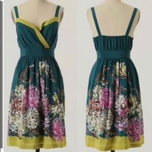Anthropologie Maeve Impressionist's Dream dress